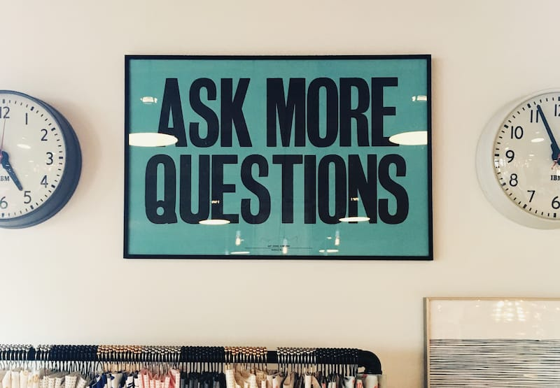 Ask More Questions by Jonathan Simcoe